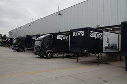 Auping warehouse trucks