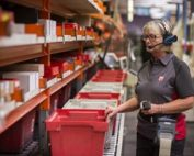Warehouse worker pick with Voice at Lemvigh-Müller