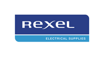 Rexel logo- customer to Consafe Logistics
