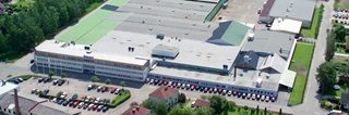 Swegon warehouse from above