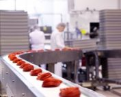 Production line at Cloetta