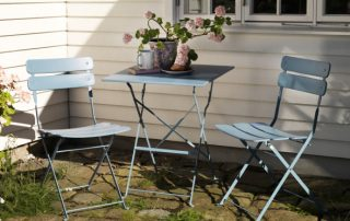 Outdoor furniture from Brafab's collection