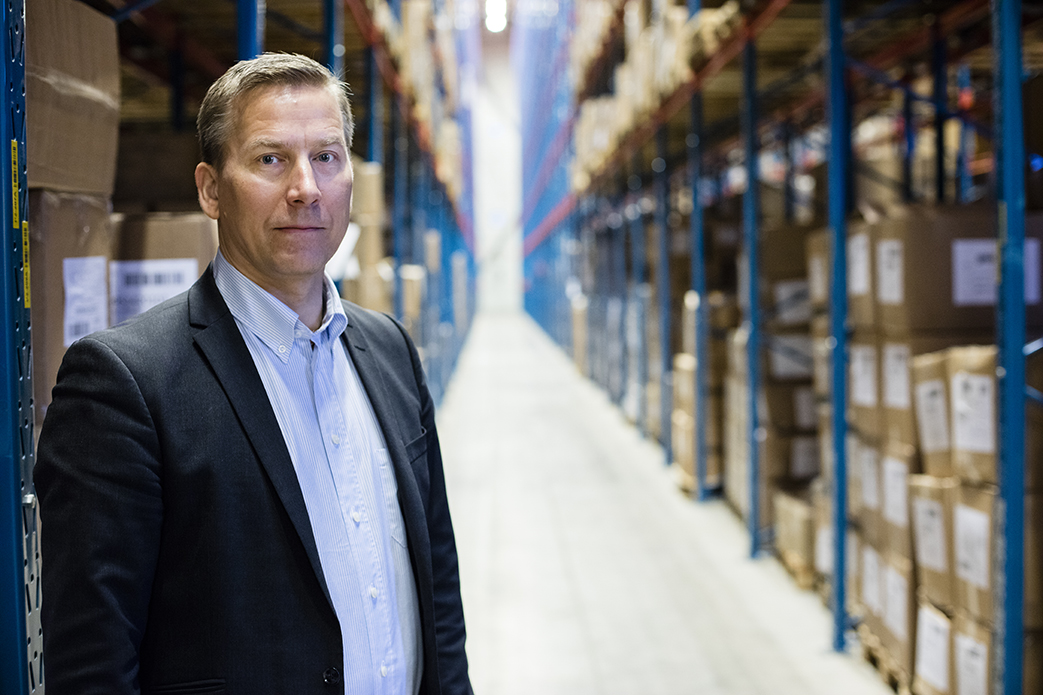 Petri Ventelä, Head of Logistics at Gina Tricot