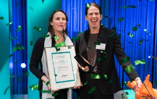 Consafe Logistics receives first prize.