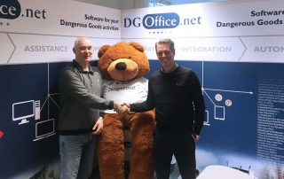 Handshake between DGOffice and Consafe Logistics