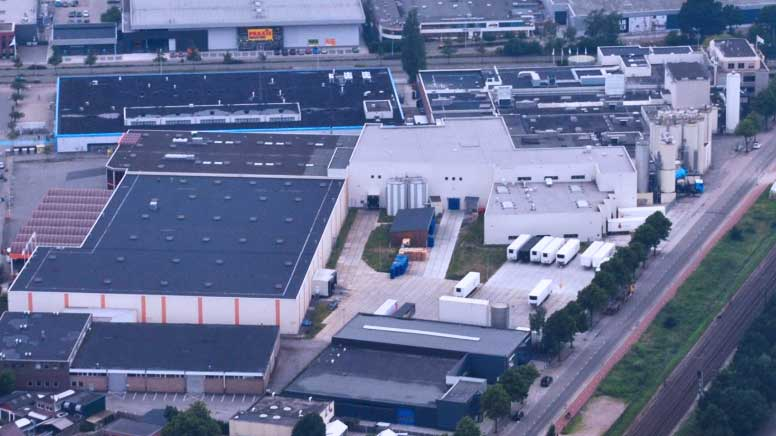 Riedel Warehouse from the sky