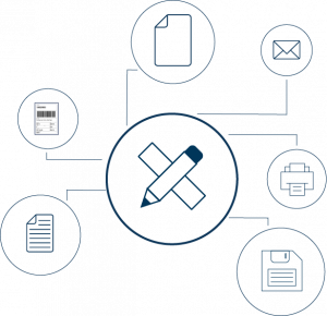 An illustration of how opdoc add-on module works
