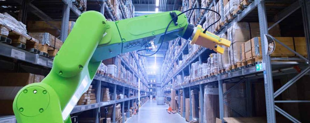 warehouse automation in action