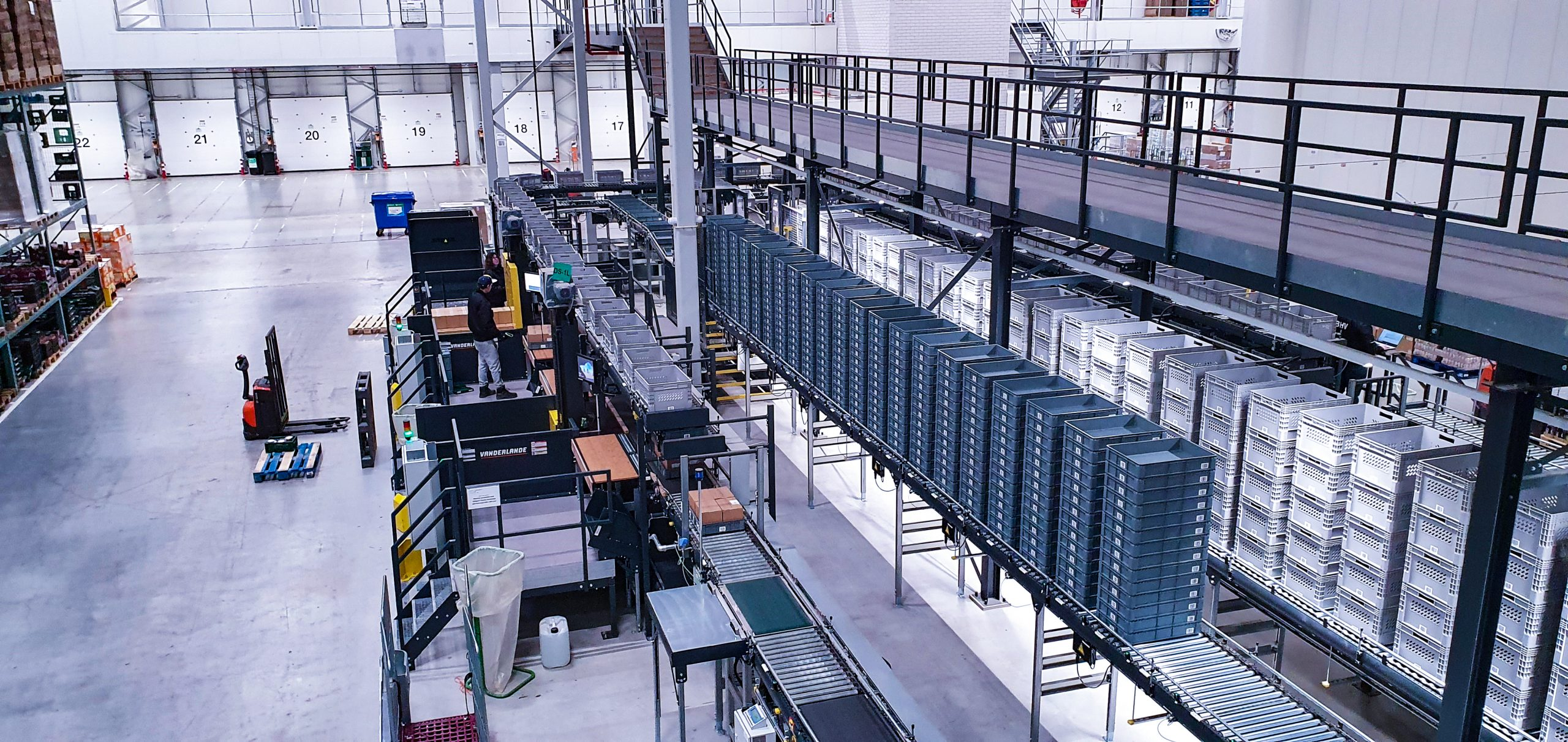Udea new automated distribution center uses Astro WMS to increase picking effiency